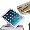 FAVI Swivel Screen Portfolio Case with Bluetooth Keyboard for iPad Air