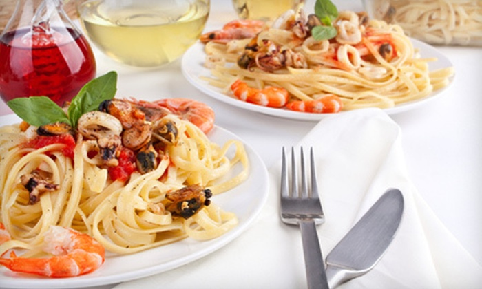 Nicole's Italian Restaurant - Southeast Montgomery: Italian Dinner at Nicole's Italian Restaurant (Half Off). Two Options Available.