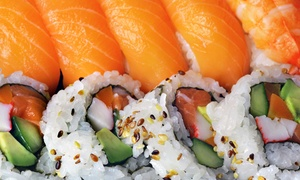 Lemon Street Restaurant: Sushi and Japanese and Chinese Cuisine for Takeout or Dine-In at Lemon Street Restaurant (Up to 47% Off)