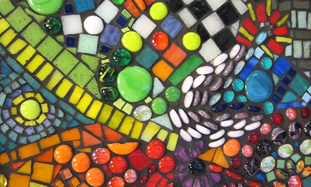 $39 for a Mosaic Wooden-Plaque Project at Yucandu Art Studio ($70 Value)