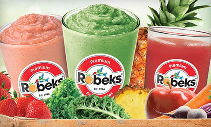 Robeks - New Rochelle: $6 for $12 Worth of Smoothies and Drinks at Robeks