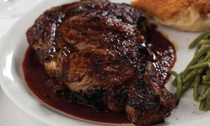 Embers: Steakhouse Cuisine for Dinner for Pairs or Groups of Four or More at Embers (Up to 46% Off)