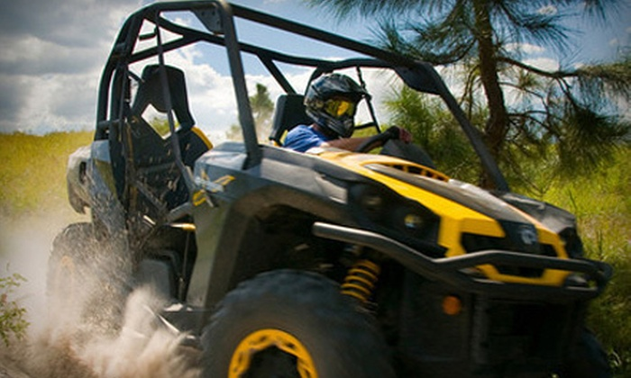 Revolution, The Off-Road Experience - Clermont: $55 for a Two-Person Dune-Buggy Experience in One Dune Buggy at Revolution, The Off-Road Experience ($105 Value)