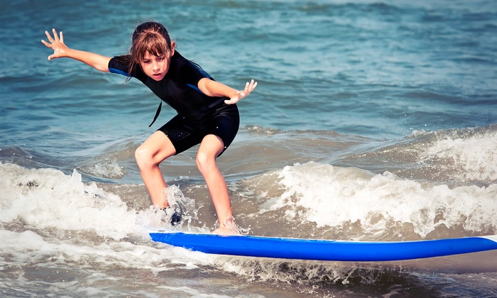 Ohana Surf & Skate - Hershey Beach: Kids' Surf Camp for Two from Ohana Surf & Skate (50% Off). Eight Options Available.