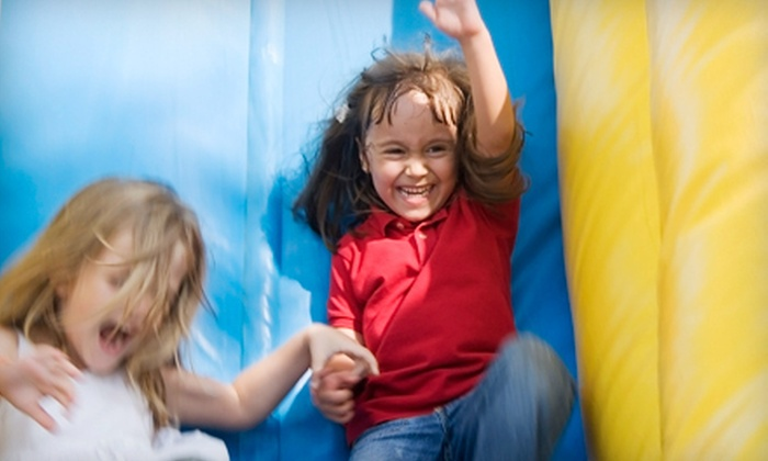 Brinca! - South Side: Five Open-Jump Days, One Four-Hour Bounce-Castle Rental, or $50 for $200 Toward a Premium Party at Brinca!