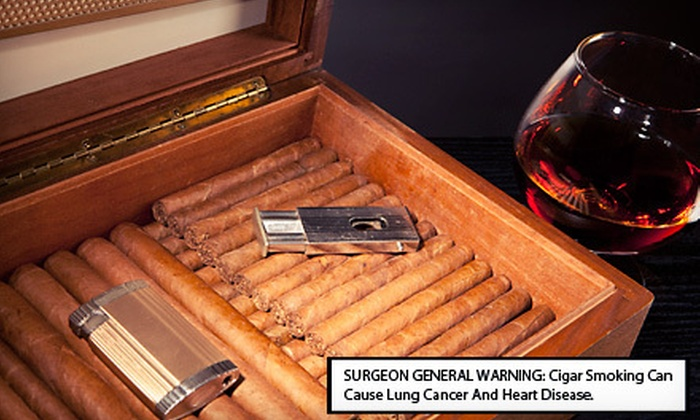 CheapHumidors.com: $15 for $30 Worth of Cigars and Smoking Accessories from CheapHumidors.com