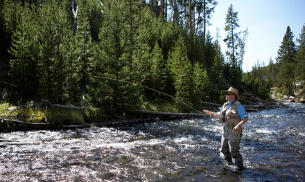 $139 for a 4-Hour Guided Fly-Fishing Trip for Two from Flys and Guides ($275 Value)