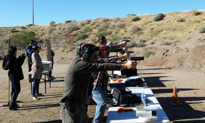 RealWorld Firearms Training - Rio Salado Sportsman Club: Intro to Urban Survival Shooting Experience for One, Two, or Four at RealWorld Firearms Training (Up to 55% Off)