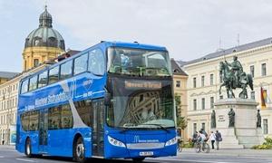 SIGHTseeing Gray Line: 24-Std.-Ticket für eine Stadtrundfahrt durch München für 2 od. 4 Personen mit SIGHTseeing Gray Line (bis zu 51% sparen*)