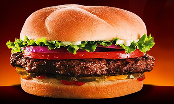 Back Yard Burgers - East Louisville: $5 for $10 Worth of Burgers for Dinner at Back Yard Burgers