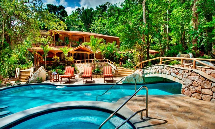 Caves Branch Jungle Lodge - Belize: Three- or Five-Night Stay With Meal Plan at Caves Branch Jungle Lodge in Belize