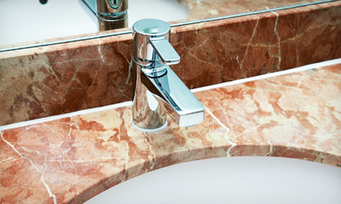Marble Cleaning NYC - New York City: Marble-Cleaning Services for a Single or Double Vanity from Marble Cleaning NYC (Half Off)