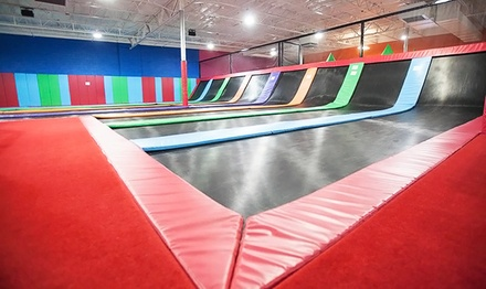 Two Hours of Jump Time with Foam-Pit Access at AZ Air Time Tucson (Up to 60% Off). Four Options Available.