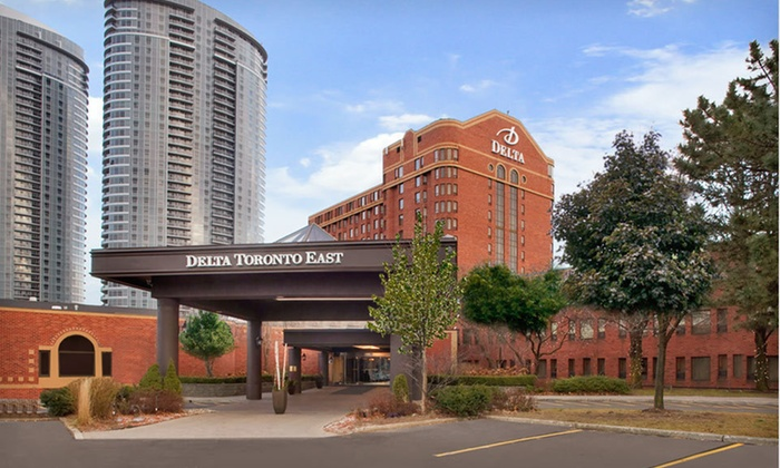 Delta Toronto East - Toronto: One-Night Stay with Dining Credit and Parking at Delta Toronto East in Toronto, ON