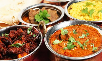image for Two-Course Indian Meal with Rice or Naan for Two or Four at Eastern Spice Corby (Up to 42% Off)