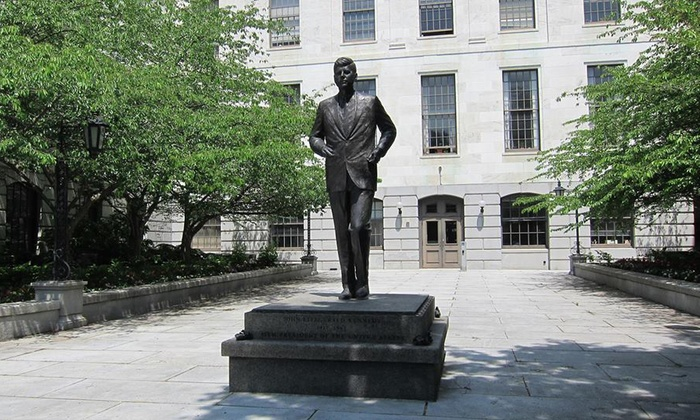 The Kennedy Tour - Massachusetts State House: Kennedy Family Historical Walking Tour for One, Two, or Four from The Kennedy Tour (Up to 56% Off)