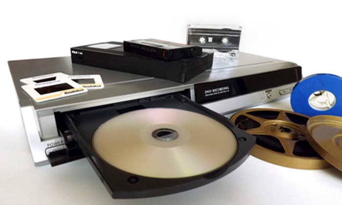 Such Media - Okemos: 6, 8, or 10 Video-to-DVD Transfers or $25 for $50 Worth of Services at Such Media