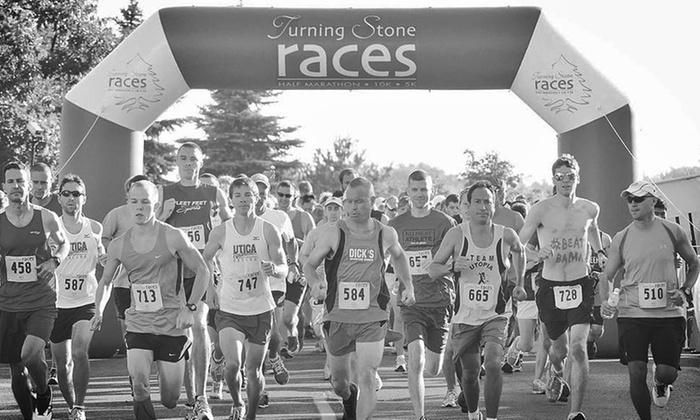 Turning Stone Races - Verona: Half Marathon, 10K, or 5K from Turning Stone Races (50% Off)