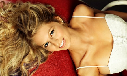 Two or Three Full-Body Airbrush Tans at Glo On The Go (Up to 51% Off)