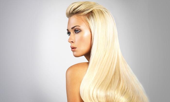 Hair Design by Andrea - Hair Design by Andrea: Ristrutturazione, taglio, piega e colore con effetti luce a scelta da Hair Design by Andrea  (sconto fino a 69%)