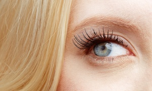 Allure Organic Spa: Eyelash Extensions with 60–90 Silk, Mink, or Synthetic Lashes Per Eye at Allure Organic Spa (Up to 72% Off)