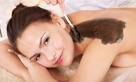 Black Baltic or European Rose Mud Body Wrap with an Express Facial at Jun's Health & Day Spa (Up to 61% Off)