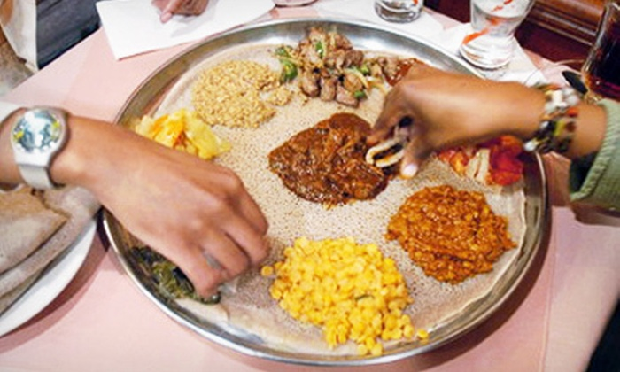 Blue Nile - Old North Columbus: $10 for $20 Worth of Ethiopian Cuisine at Blue Nile