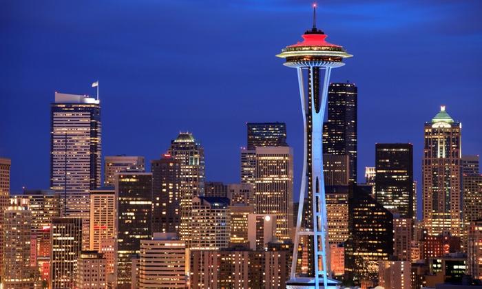 Space Needle In Seattle Wa Groupon