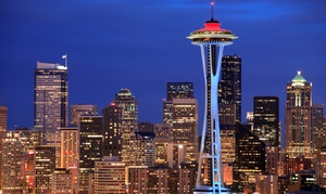 Space Needle: $75 for Base 2 Space Climb Fundraiser Registration at the Space Needle on Saturday, October 3 ($100 Value)