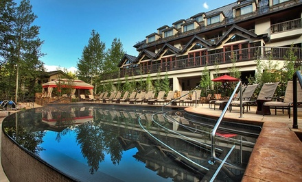 groupon daily deal - Stay at Vail Cascade in Vail, CO. Dates Available into June.