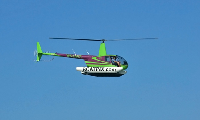 Heli Rides - Pembroke Pines: $167 for a 10-Minute Helicopter Tour for Up to Three at Heli Rides ($270 Value)
