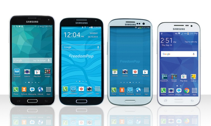 Free 4G LTE Service from FreedomPop with Samsung Smartphone | Groupon