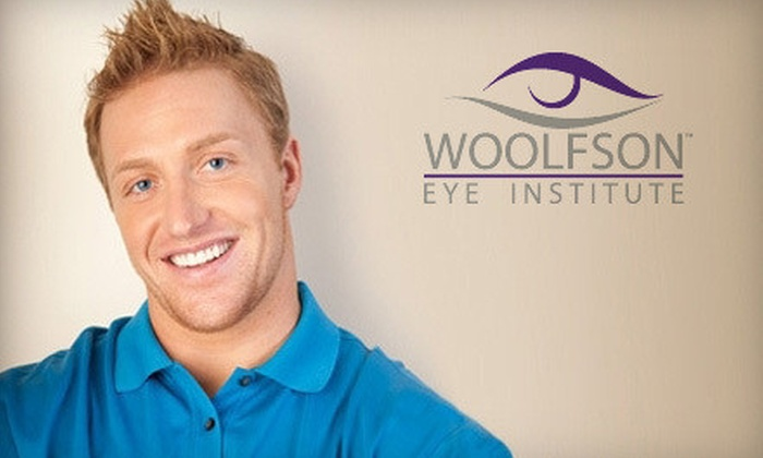 Woolfson Eye Institute - Multiple Locations: $2,400 for Bilateral Conventional LASIK Surgery on Both Eyes at Woolfson Eye Institute (Up to $5,390 Value)