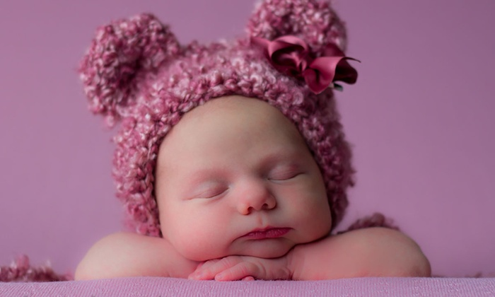 4 Blessings Photography - Multiple Locations: 75-Minute Newborn Photo Shoot from 4 Blessings Photography (70% Off)