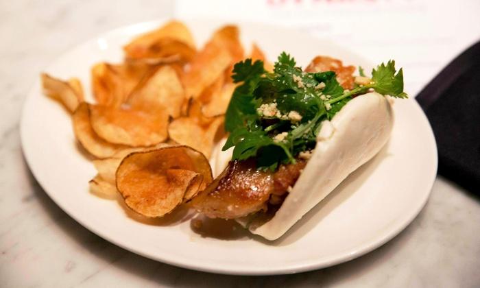 PrimeStache - Center City East: American Bistro Cuisine at PrimeStache (50% Off). Two Options Available.