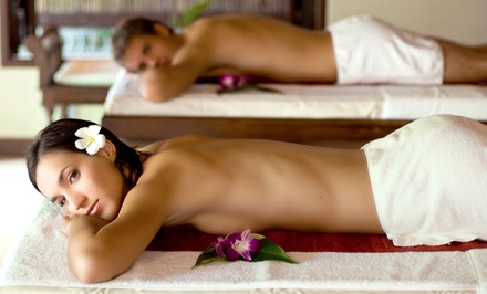 Massage and Hydrating Facial for One or Two, or Spa Lunch Date for Two at Royal Oak Tea Spa (Up to 56% Off)