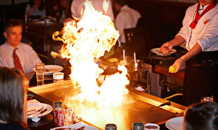 Tokyo Hibachi & Sushi - Center City West: Sushi, Hibachi, and Japanese Cuisine at Tokyo Hibachi & Sushi (Up to 53% Off). Two Options Available.