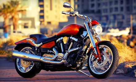 Eight-Hour Motorcycle Rental (a $140 value) - Paradise Rent-A-Car in Honolulu