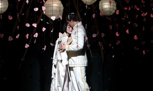 "The Metropolitan Opera: ""Madama Butterfly"" (February 19–April 12) or ""L'Elisir D'Amore"" (March 10–April 2) with Sparkling Wine"