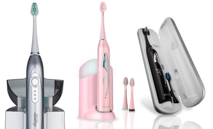 Ultrasonic Toothbrush with UV Sanitizer Charging Case