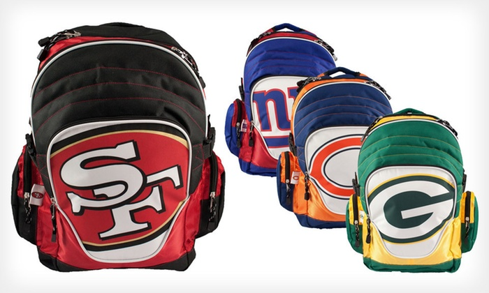 NFL Premium Backpack : $21 for an NFL Premium Backpack ($39.99 List Price). 18 Team Logos Available. Free Shipping.