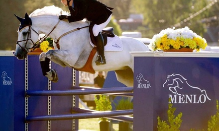 Three Horseback-Riding Lessons at Meadow Hill Farm (65% Off)