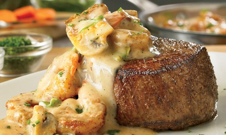 $10 for $20 or $15 for $30 Worth of Food at Outback Steakhouse