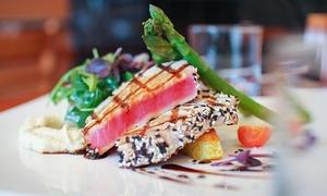 Queue De Veau: C$49 for a 4-Course Table d'Hôte Dinner for Two at La Queue de Veau Restaurant (Up To C$111.50 Value)