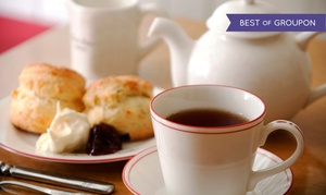 Chado Tea Room: Afternoon Tea and Tasting for Two or Four at Chado Tea Room (Up to 52% Off)