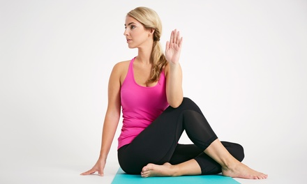 30 or 60 Days of Unlimited Yoga Classes at Twist Yoga Lounge (Up to 76% Off)