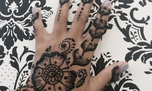 Nail'd It!: Up to 53% Off Henna-tattoos at Nail'd It!