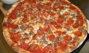 Carmine Street NY Pizza & Mussels: Pizza and Pasta for Dine-In or Takeout at Carmine Street NY Pizza & Mussels (50% Off)