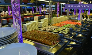 Zhou`s Five im Victoria Center: Mongolisches All-you-can-eat-Buffet mit Live Cooking für 2 Personen im Zhou`s Five im Victoria Center (30% sparen*)