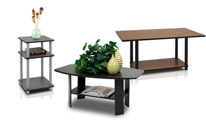 Furinno Tables and TV Stands Groupon Goods